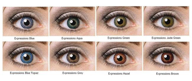 Expressions Colors Plano Non Prescription